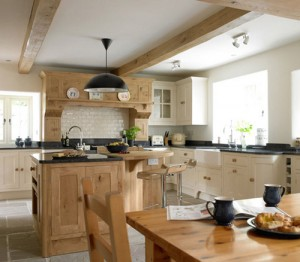 A Superb Wooden Themed Kitchen Table